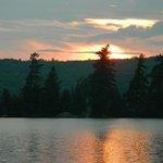 Sunset at sunset cottage