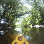 kayak on Missisquoi river