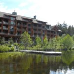 The front of Nita lake lodge