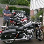 Owner with the Harley's