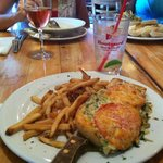 crab melt and fries- always my personal favorite