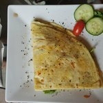 Chicken crepe