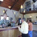 friendly staff and vibe in tasting room