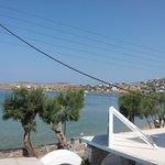 View towards the beach