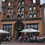Original building at the market square, Wismar