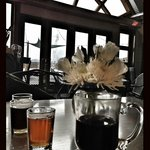 Local brews and hot mulled wine