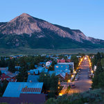 Town of Crested Butte Sunset