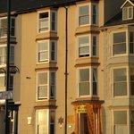 B&B exterior from promenade