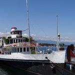 The boat restaurant