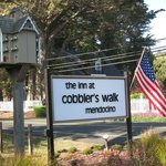 The sign for Cobbler's Walk