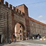 14th century old walls of Verona