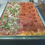 une des pizzas romaine