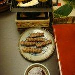 Grilled Hida beef