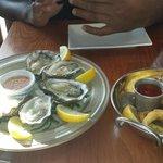 osters and calamari