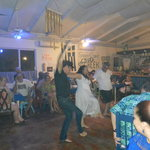 Family nite @ The Pickled Greek,  greek dancing