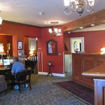 Lobby view with The Inn's internet access