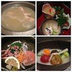 博多祇園山笠にちなんで山笠コースを頂きました。こんなに美味しい水炊きは食べたこと無いです。他のお料理もとても美味しかったです。