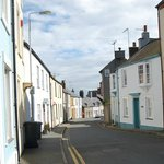 Charming winding streets of Beaumaris