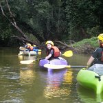 Kayaking on the Bulgan River, Tully
