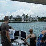 Visitors from Washington and Virginia enjoying South Florida.
