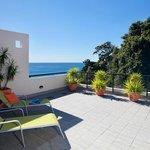 Villa 7 deck