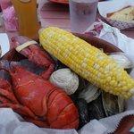 Lobster boil dinner