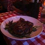 veal chop special - huge portion!!