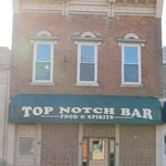 Top Notch Tavern on State Road 18 (W. Third Street) in Brookston, Indiana