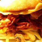 Blowout Pulled Pork Sandwich