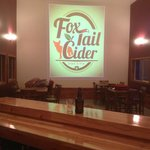 Tap room of Fox-Tail Cider