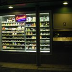Store front vending machine on Boulevard L'Hopital  on the way to  Place d'Italie  from the hote
