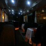 Vista interna del bus