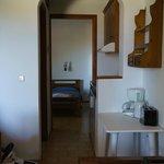 キッチンとベッドルーム