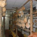 sala per la stagionatura dei formaggi