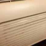 Mildew on heater/AC