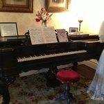 Square Grand Piano in the Parlour
