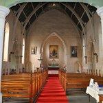 Inside St Aloysius Jesuit Church