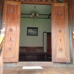 The wooden doors of the Superior Room