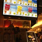 Hui Lau Shan shakes and juices