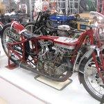 """The actual """"Burt Munro"""" Indian motorcycle"""