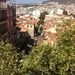View from roof terrace.