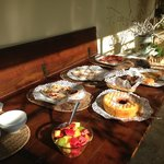 We were delighted by the beautifully prepared breakfast!