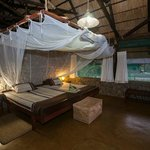 Mvuu Camp bedroom