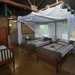 Mvuu Camp chalet interior