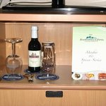Mini bar con nevera