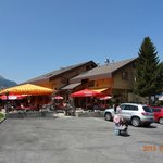 Ronalps restaurant with outside dining