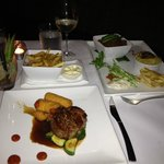 Eye Fillet and Indian Beef Curry