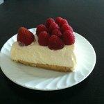 Fresh berries cheesecake (taken home)