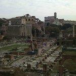 Vista sul Foro Romano
