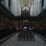 Choeur de la cathédrale Sainte-Marie, à Auch